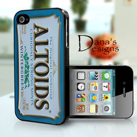Altoids wintergreen  iPhone 4S and iPhone 4 Case by DanazDesigns
