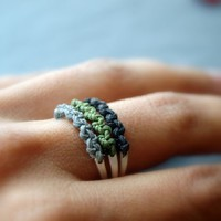 Supermarket: Back to Roots Stacking rings from : LUNATICART :