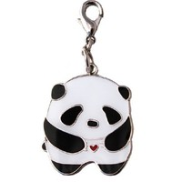 Supermarket: Panda Zipper Pull from crywolf