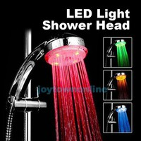 7colour Led Shower Head Faucet Water Current Energy