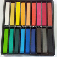 Temporary Hair Chalk (18 Pieces) from Iess
