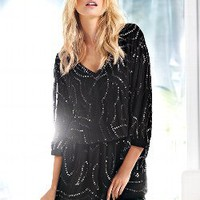 Sequin Blouson Dress - Victoria's Secret