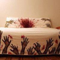 zombie bed spread