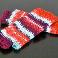 Hermione's Fingerless Mittens by NikisKnerdyKnitting on Etsy