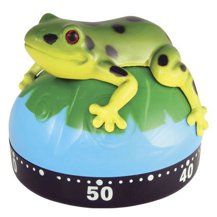 Green Frog (Toad) on Lily Pad Kitchen Baking or Time - Out Timer