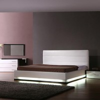 Tall Platform Beds With Light - OpulentItems.com