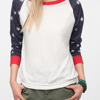 Urban Outfitters - Alternative Print Sleeve Pullover Tee