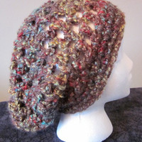 Crocheted Chunky Slouchy Hat by SarahsFabCreations on Etsy