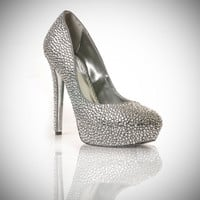 Custom Rhinestoned Shoes by Two Fifty Seven