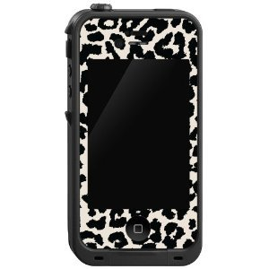 Black and White Leopard &quot;Protective Decal Skin&quot; for LifeProof 4/4S Case:Amazon:Cell Phones &amp; Accessories
