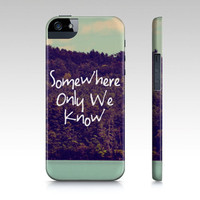 "Samsung Galaxy S3 Covers - iPhone 5,4,4s Case ""Somewhere"""