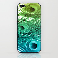 Feathered Sea... iPhone & iPod Skin by Lisa Argyropoulos | Society6