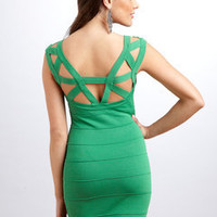 ideeli | WOW COUTURE Cutout V-Neck Dress