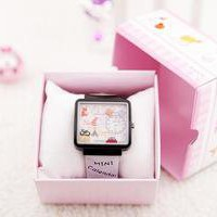Funny Cute Watch Korean Style Watch Cartoon Pottery watch