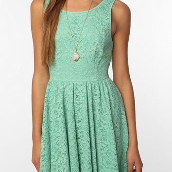 Urban Outfitters - Pins and Needles Backless Lace Dress