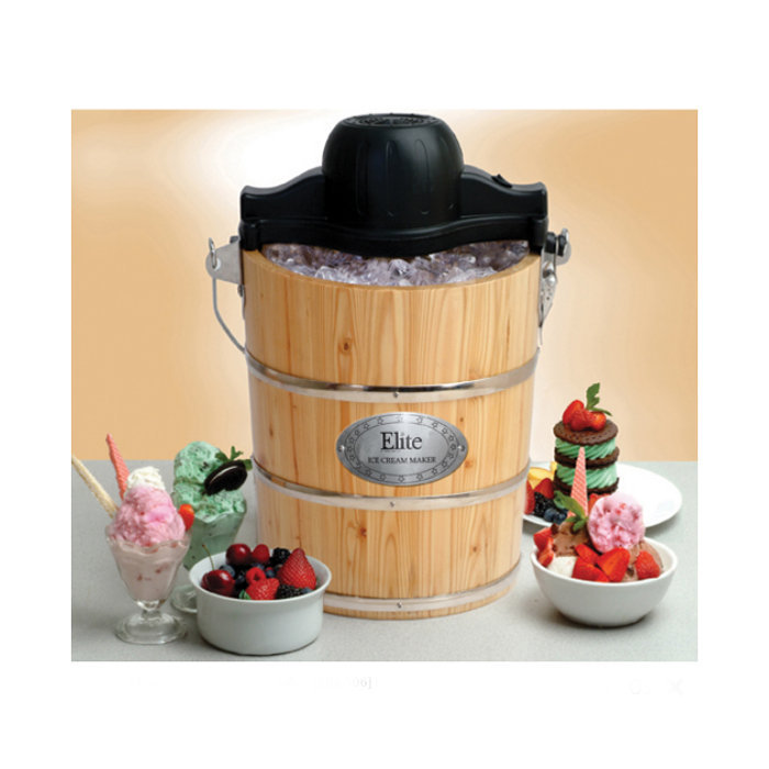 6-Quart Old-Fashioned Ice Cream Maker