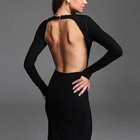 BACKLESS HT dress