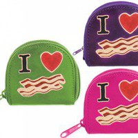 I heart Bacon Coin Purse