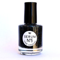 Black Paradox 15ml Nail Polish by SerumNo5 on Etsy