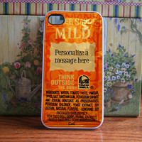 Taco bell packet personalized  iPhone 4S and by DanazDesigns