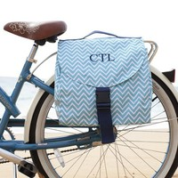 Zigzag Bicycle Saddle Bag
