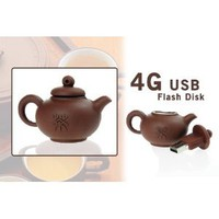 Amazon.com: Brown Cute Chinese Teapot Style 4G 4GB USB 2.0 Flash Memory Stick Drive Stick Pen: Computers & Accessories