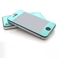 New Mint Glitter Screen Protector Matte type Anti fingerprint for iPhone 4 4G 4S