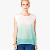 Ombré Cap Sleeve Top
