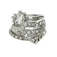 Stackable Heart Rings | Shop Accessories at Wet Seal