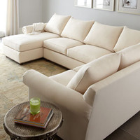 "Old Hickory Tannery - ""Ellsworth"" Sectional - Horchow"