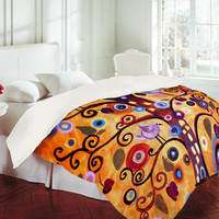 Natasha Wescoat Tree Of Life Duvet Cover