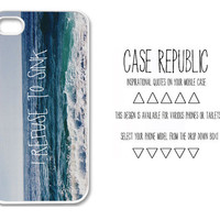Apple iPhone 4 5  Ipod iTouch 5 Samsung Galaxy S3 Case Cover I Refuse To Sink  Quote  Design