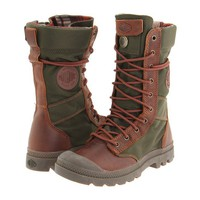 Palladium Pampa Tactical Bridle Brown/Olive Drab - Zappos.com Free Shipping BOTH Ways