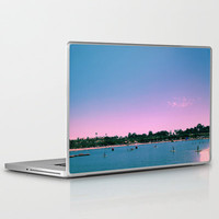 Beach Livin Laptop & iPad Skin by Aja Maile | Society6