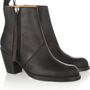 Acne | Pistol leather ankle boots | NET-A-PORTER.COM