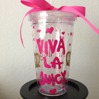 Viva La Juicy Juicy Couture Inspired Tumbler Cup
