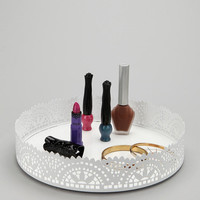 Urban Outfitters - Cut Lace Vanity Tray