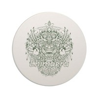 chimaera affected design green coaster from Zazzle.com