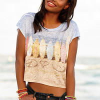 Lexi Printed Surf Tee