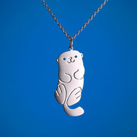 Sweet Otter Necklace