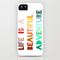 A Beautiful Adventure iPhone Case by LitPrints | Society6