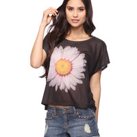 Daisy Crop Tee | FOREVER21 - 2002928411