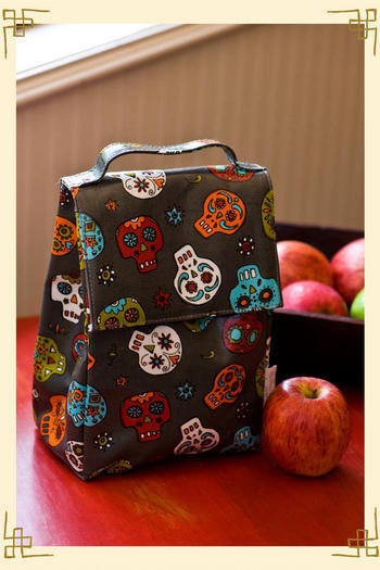 Dia de los Muertos Lunch Sack - Francesca's Collections