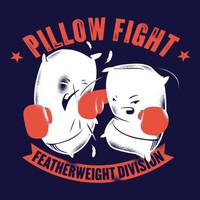Pillow Fight, Featherweight Division T-Shirt | SnorgTees