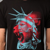 Lion Statue Of Liberty Tee
