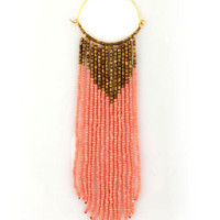 Beautiful Beaded Earrings - Dangle Earrings - $14.00