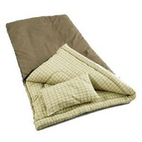 Amazon.com: Coleman Big Game Sleeping Bag with Pillow: Sports & Outdoors