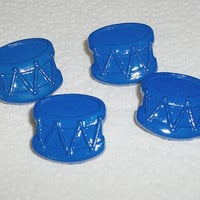 Button sets plastic with shank back