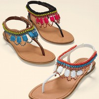 Jeweled Flat Sandal - Zigi - Victoria's Secret