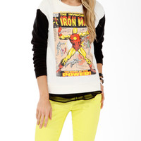 The Invincible Iron Man Pullover | FOREVER21 - 2017306352